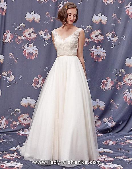 Простое свадебное платье 2016 - Ivy & Aster