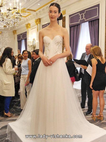 Простое свадебное платье - Marchesa