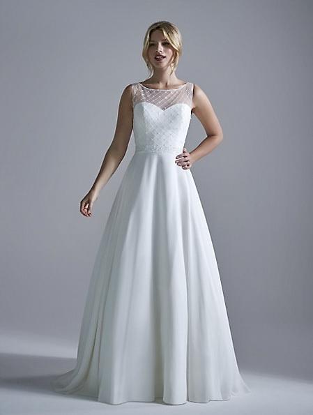 Простое свадебное платье 2016 - OPULENCE