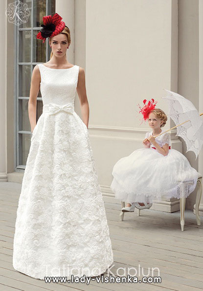Простое свадебное платье 2016 - Tatiana Kaplun