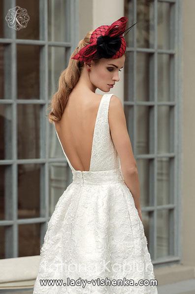Простое белое свадебное платье - Tatiana Kaplun