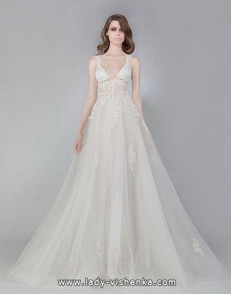 Простое свадебное платье 2016 - Victoria KyriaKides