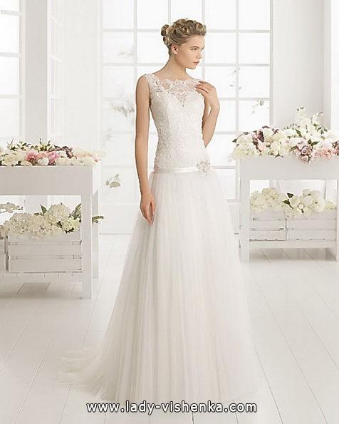 Самое простое свадебное платье 2016 - Aire Barcelona