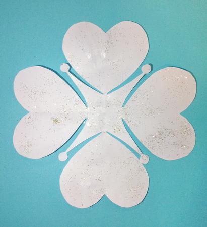 Объемные снежинки из бумаги своими руками на