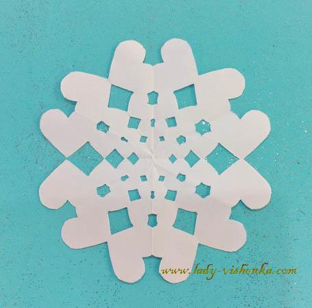 Снежинки детские