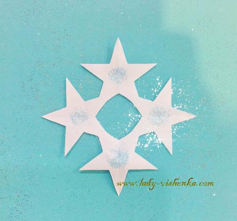 Фото как делать красивые снежинки из бумаги