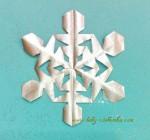 Снежинки для детей — 31 схема