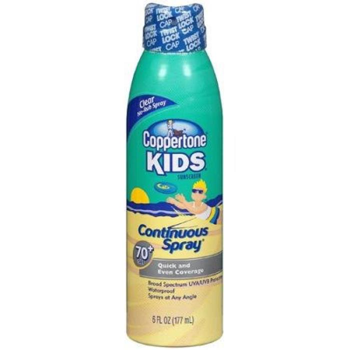 9. Вредные детские солнцезащитные кремы