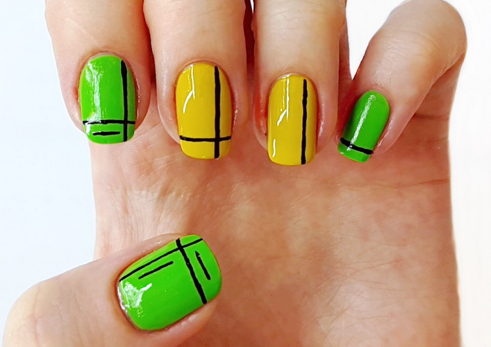 Модный летний дизайн ногтей 2016