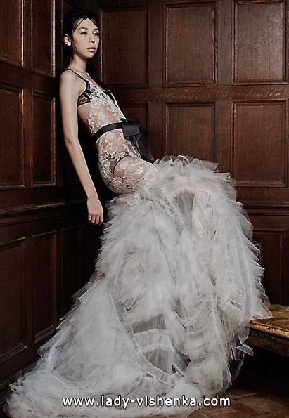 Прозрачные свадебные платья фото - Vera Wang