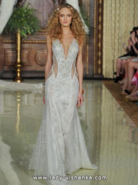 Прозрачное свадебное платье - Galia Lahav