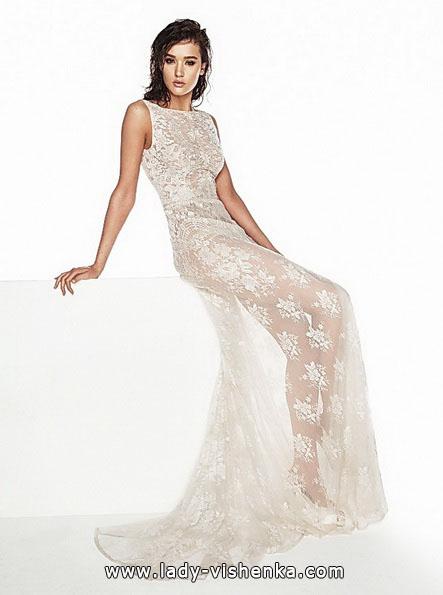 Прозрачное свадебное платье - Luci DiBella