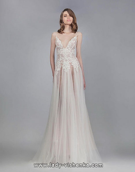 Прозрачное свадебное платье - Victoria KyriaKides