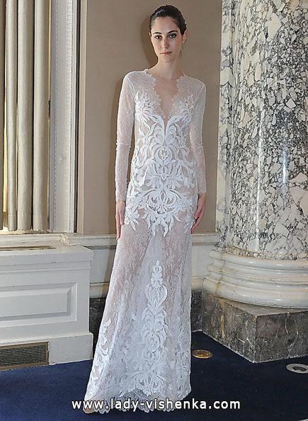 Прозрачное свадебное платье - Christos Costarellos