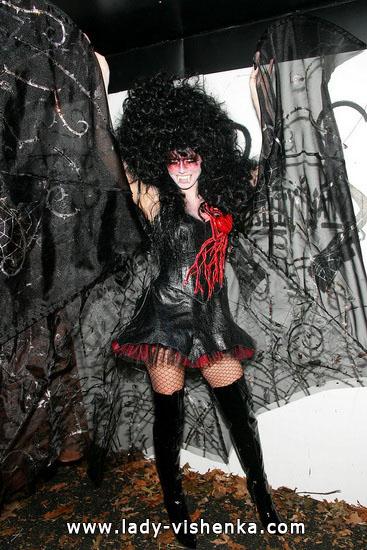 Вампир на Хэллоуин - фото