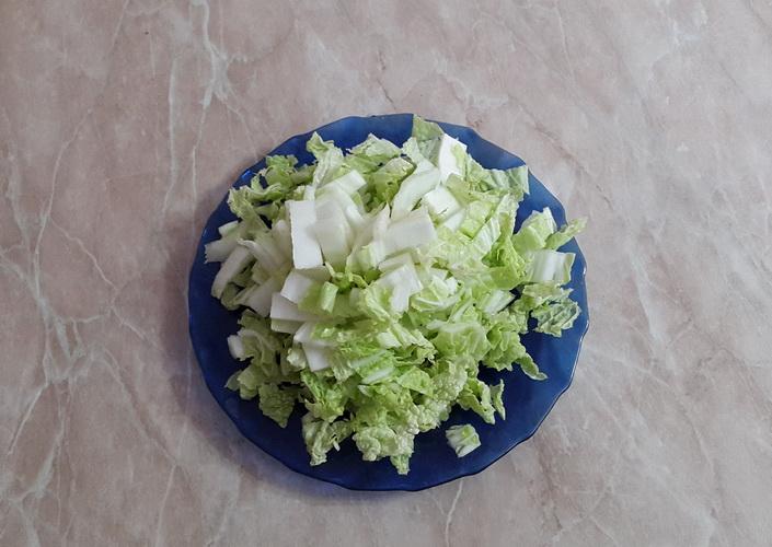 Ингредиент № 2 к супу с пекинской капустой