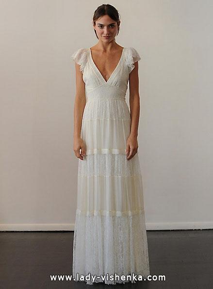 Свадебные платья с закрытыми плечами - Temperley
