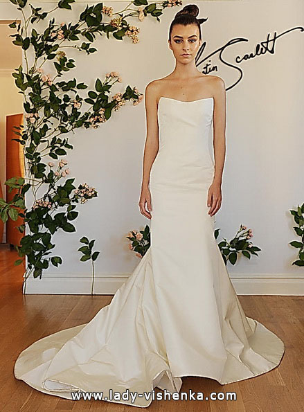 Свадебное платье русалочка со шлейфом 2016 - Austin Scarlett