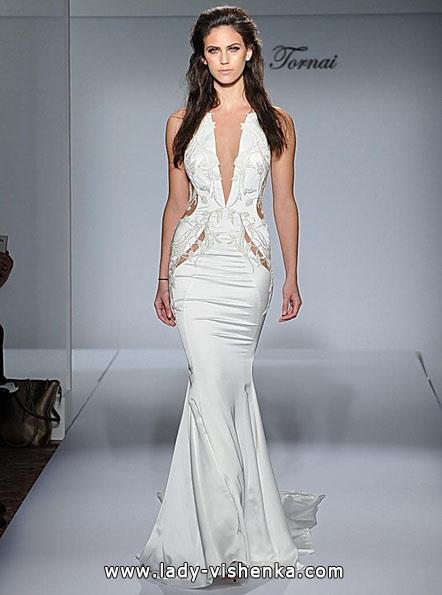 Свадебное платье рыбка со шлейфом - Pnina Tornai