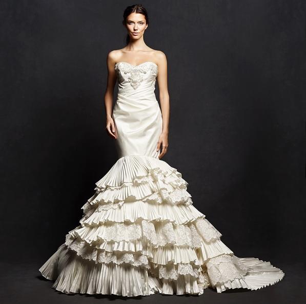 Свадебное платье русалочка со шлейфом - Isabelle Armstrong