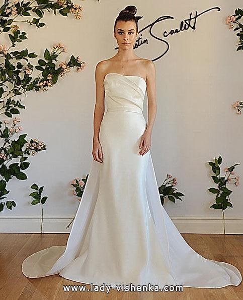 Свадебное платье русалочка со шлейфом - Austin Scarlett