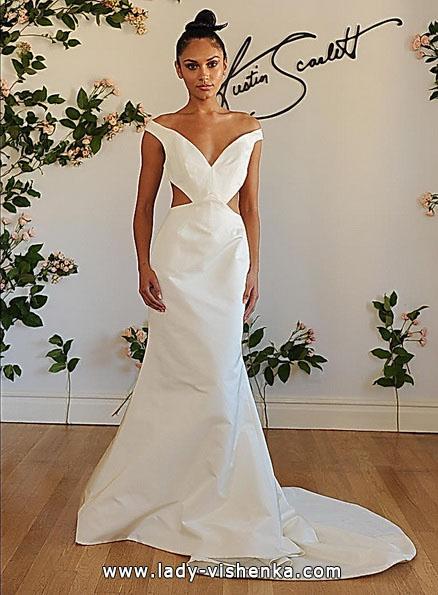 Свадебное платье рыбий хвост со шлейфом - Austin Scarlett