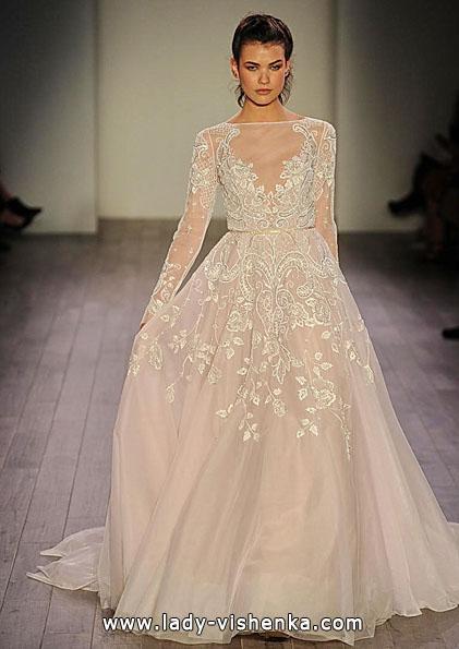 Свадебные платья с кружевными рукавами 2016 - Hayley Paige