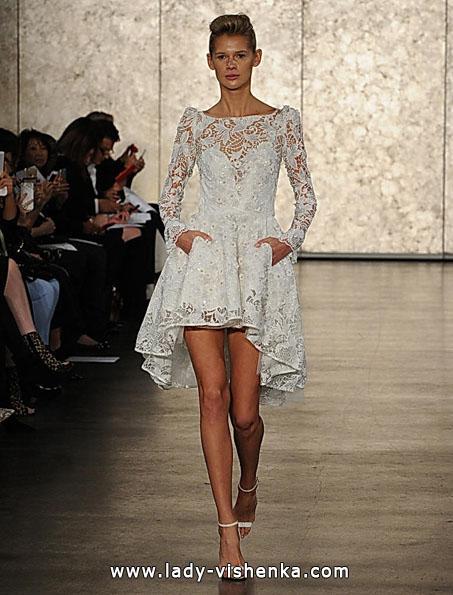 Свадебные платья с кружевными рукавами - Inbal Dror
