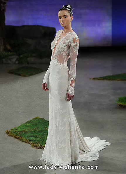 Свадебные платья с кружевными рукавами - Ines Di Santo