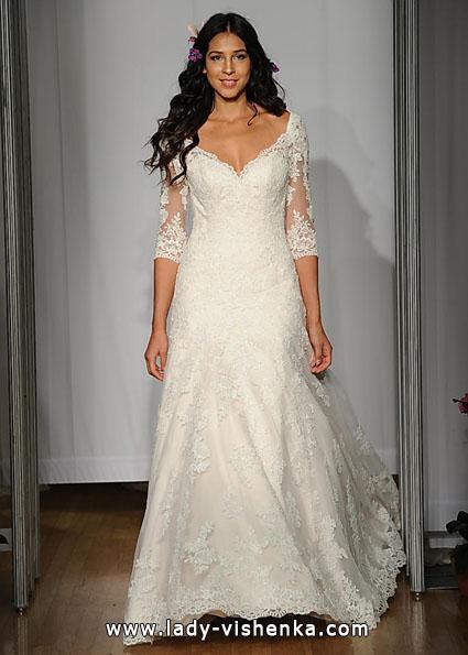 Свадебные платья с кружевными рукавами - Mori Lee
