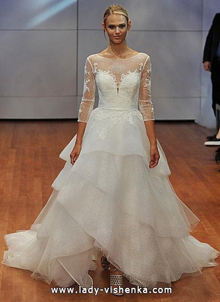 Свадебные платья с кружевными рукавами - Rita Vinieris