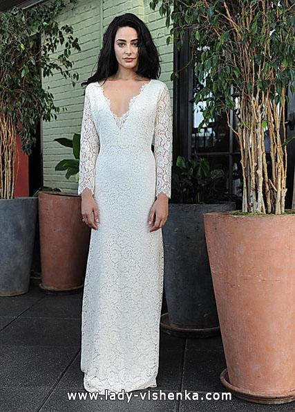 Свадебные платья с кружевными рукавами - Sarah Seven