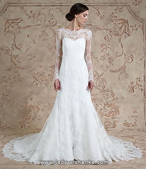 Кружевные свадебные платья с длинным рукавом - Sareh Nouri