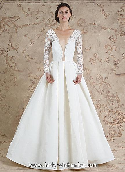 Свадебные платья с кружевными рукавами 2016 - Sareh Nouri