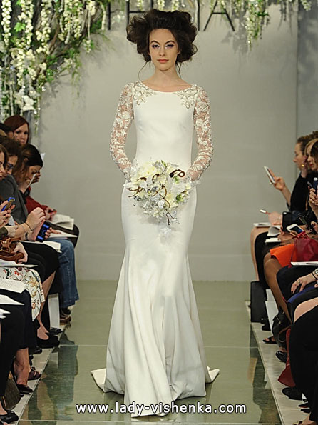 Свадебные платья с кружевными рукавами - Theia