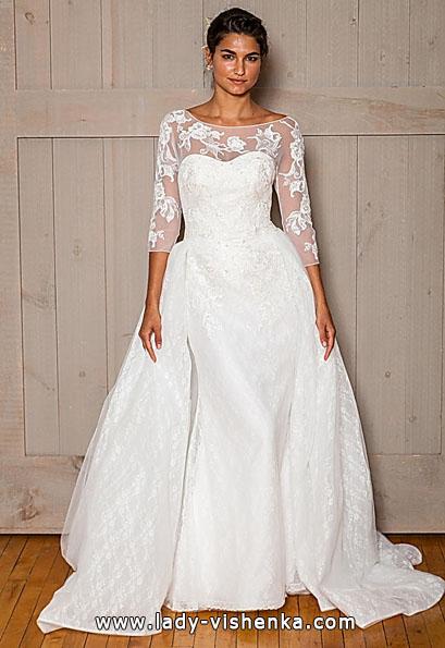 Свадебные платья с кружевными рукавами - David's Bridal