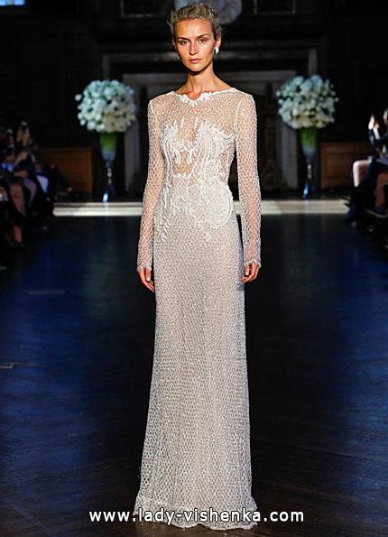 Свадебные платья с кружевными рукавами 2016 - Alon Livne