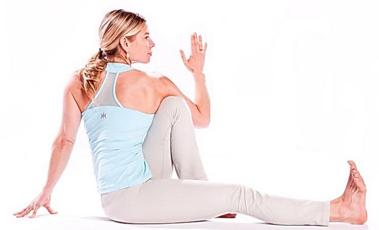 Поза мудреца Маричи в йоге