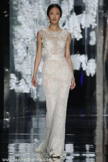 Прямое свадебное платье YolanCris