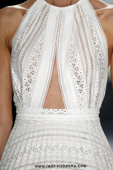 Верх простого свадебного платья YolanCris