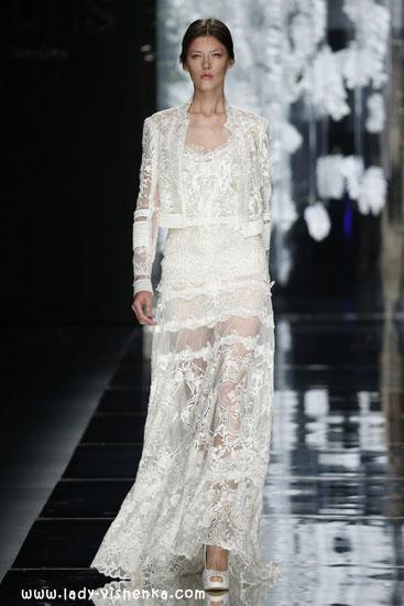 Свадебные платья с рукавами YolanCris