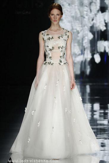 Красивые свадебные платья фото YolanCris