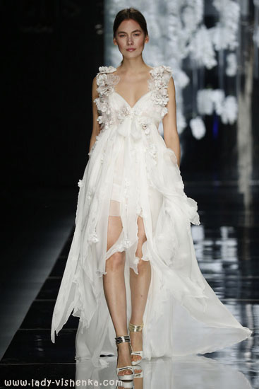 Коротокие свадебные платья YolanCris