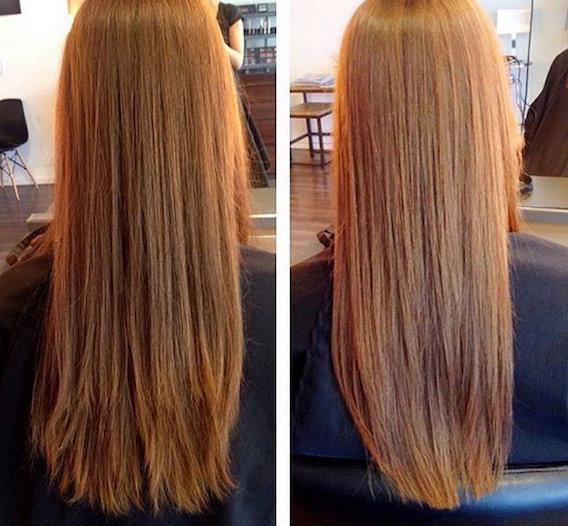 Стрижка сухих волос