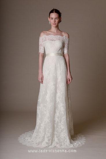 Красивые свадебные платья фото Marchesa
