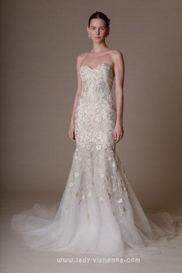 Новинки свадебных платьев Marchesa