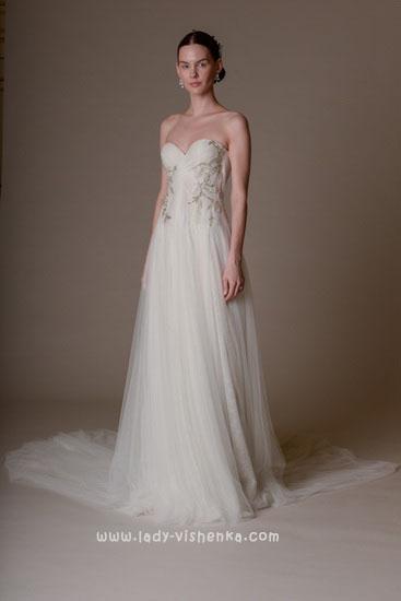 Модные свадебные платья Marchesa