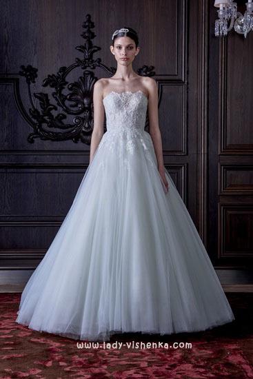 Свадебные платья фото Моник Люлье