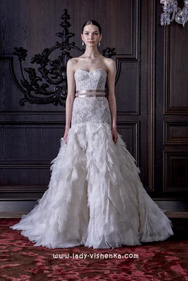 Свадебные платья 2016 фото Моник Люлье