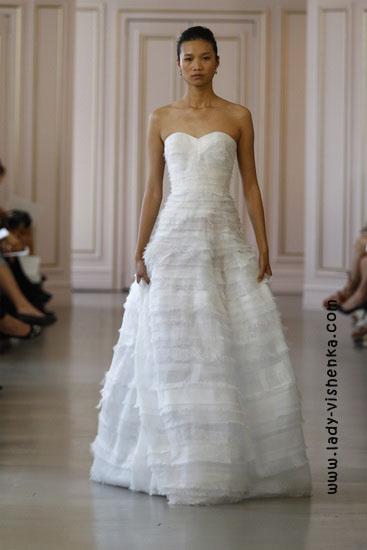 Свадебные платья 2016 фото Oscar De La Renta
